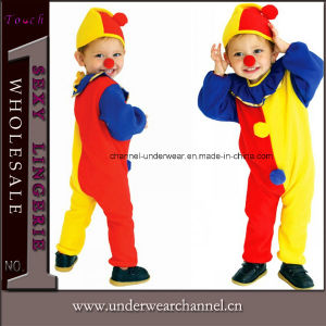 Carnival Halloween Clown Suit Party Kid Children Costume (TCQ0056) pictures & photos