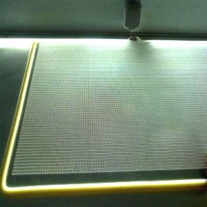 Light Guide Panel with Mesh Pattern for LED Light Box