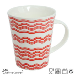 12oz New Bone China Coffee Mug with Decal pictures & photos