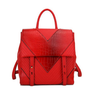 School Type Red Handbag C031