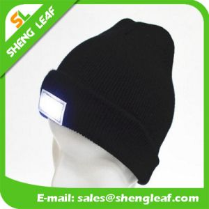 5 Lights Promotional LED Beanie Cap
