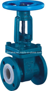 Rising Stem PFA/FEP Lined Gate Valve pictures & photos