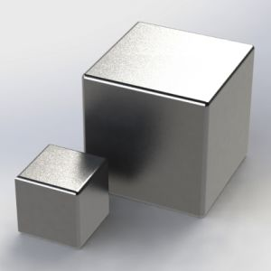 High Performance Sintered Cube Permanent Neodymium Magnet