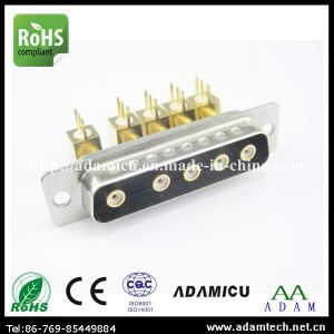 Coaxial D-SUB Connector Male 5W5