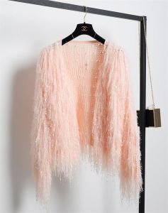 C1194 Boutique Quality Handwork Tassel Knitting Shawl Cardigan for Ladies pictures & photos