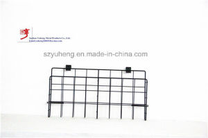 SGS Steel Metal Wire Posters Baskets for Supermarket