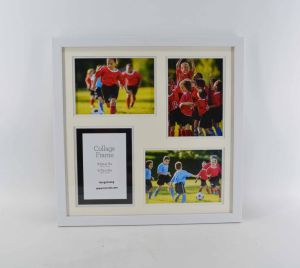 White Mat Plastic Photo Frame for Home Deco pictures & photos
