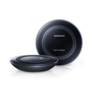 Wholesale Mini Round Qi Wireless Charger for Samsung Note 5
