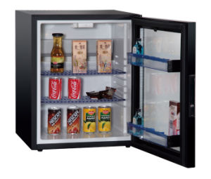 No Compression Mini Bar Fridge with Glass Door for Coca Cola Beverage Xc-38-3 pictures & photos