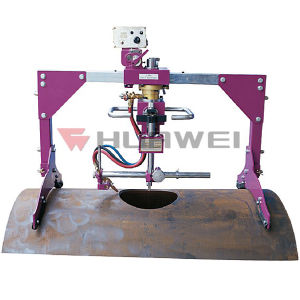 (HK-600D) Auto Pipe Hole Cutter Cutting Machine pictures & photos