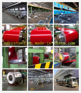 Factory Prepainted Galvalume Steel Coil PPGL pictures & photos