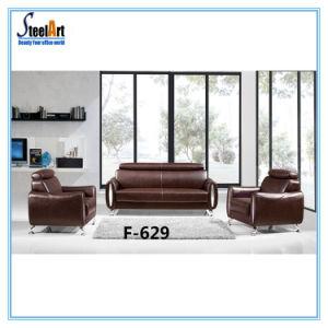 Office Furniture Leather Modular Sofa (KBF F629)