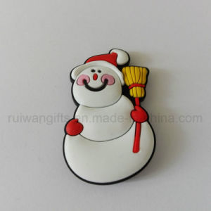 Wholesale Christams Snowman Fridge Magnet for Home Decoration pictures & photos