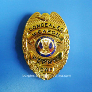 Golden Eagle High Quality Police Badge