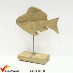 Wooden Chic Fish for Home Decor pictures & photos