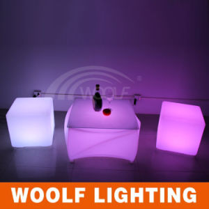 LED Light up Coffee Table LED Outdoor Table