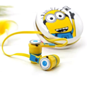 Despicable Me Style HiFi Stereo in-Ear Earphone for Sale