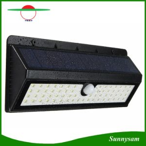 900lm 62 Led Solar Light Pir Motion Sensor Outdoor Garden Waterproof Security Pathway Emergency Wall Lamp