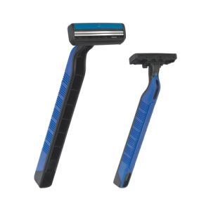 Quality and Quantity Assured 5 Blade with Open Back Disposable Shaver Razor for Sensitive Skin pictures & photos