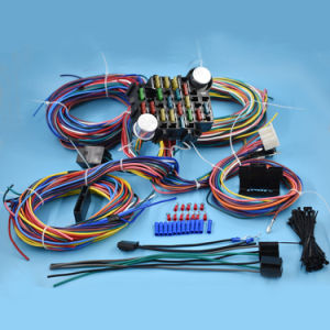 Terrific China 21 Circuit Wiring Harness For Chevy Mopar Ford Hotrods Wiring Digital Resources Funapmognl