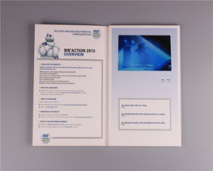 7inch Custom LCD Screen Video Folder Card pictures & photos