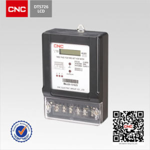 CNC Three-Phase Electronic Carrier Kwh Power Meter (DTS726) pictures & photos