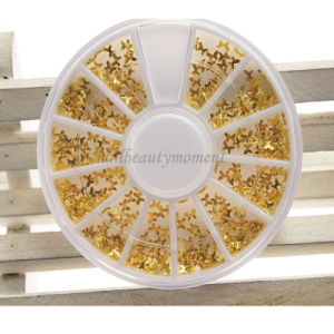 Metal Nail Art 3D Beauty Bow Butterfly Decoration Wheel (D83)