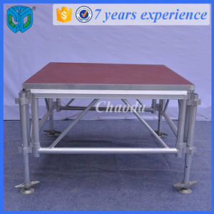 Adjustable Height Anti-Slip Platform Aluminium Stage
