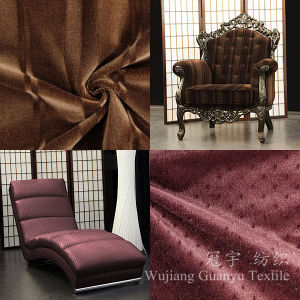 100% Polyester Leather Faux Suede Fabric for Sofa pictures & photos