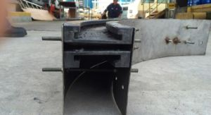 Wedge Conveyor/ Conveyor Frame / Plastic Lead Rail