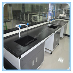 ISO9001 Long Life Steel Soil Testing Lab Sink Bench Furniture