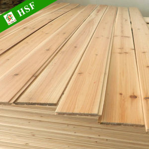Tongue Groove Solid Wood Panel For Interior Wall Decoration