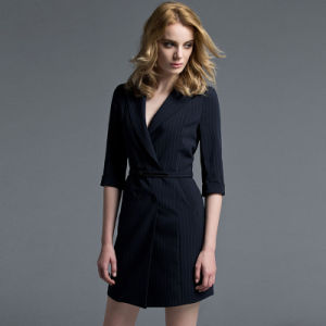 High Quality Fashion Office Ladies New Dresses Formal Dress Pictures Office Dress for Ladies pictures & photos