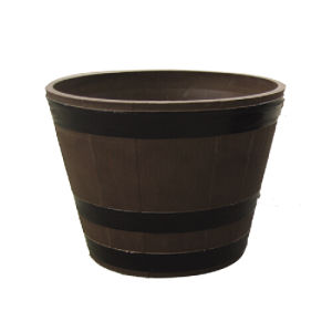 Biodegradable Plastic Flower Pot/Garden Planter (11EDB38)