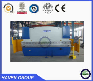 WC67 K Hydrauliu press brake, steel reinforcement hydraulic press brake pictures & photos