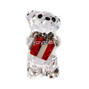 Crystal Lovely Bear for Holiday Gifts in Chinese Style pictures & photos