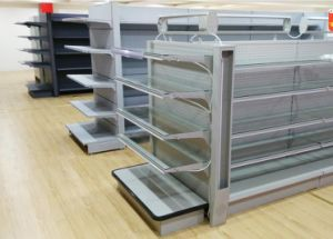 Metal Supermarket Shelf for Commodity and Comestics pictures & photos
