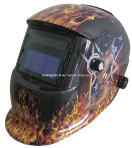 CE Certificate Auto-Darkening Welding Helmet (E1190TC) pictures & photos