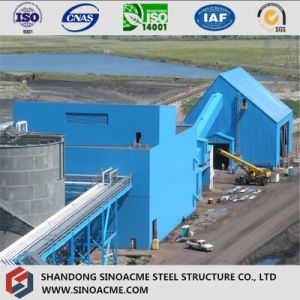 Steel Structure Heavy Frame Industrial Building with Gallery pictures & photos