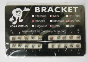 Dental Products/ Orthodontic Bracket Mbt/ Roth / Edge-Wise Bracket/Mini /Dental Orthodontic Brackets Braces (OSA-F704) pictures & photos