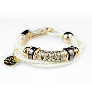 Popular at High Quality Star Charms Fashion Leather Bracelets