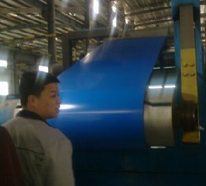 Blue Color Coated Hot Dipped Galvanized Steel Coil pictures & photos