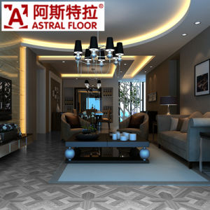 Gery Color Luxurious Style 12mm Parquet Laminate Flooring