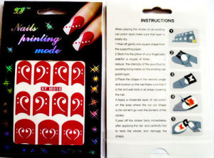Cheapest Nail Art Stencil More Design Avaiable pictures & photos