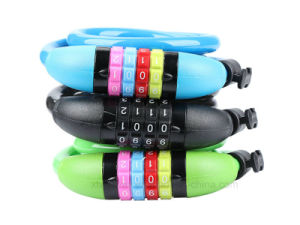 Bicycle Four Bit Anti-Theft Password Wire Lock pictures & photos