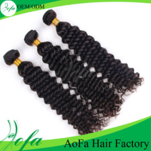 Deep Wave Remy Vigin Human Hair Extension Indian Hair Bundles pictures & photos