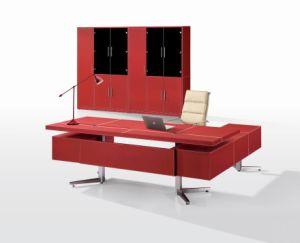 HY-01- Leather Furnishing Office Desk (HY-01)