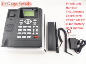 GSM Fixed Wireless Table Phone (KT1000-130C) pictures & photos