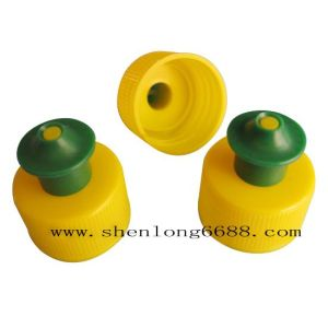 Plastic Push Pull Bottle Cap