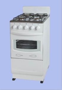 93efbcddd China 4 Burner Gas Stove with Oven GS-K05 - China Free Standing Gas ...